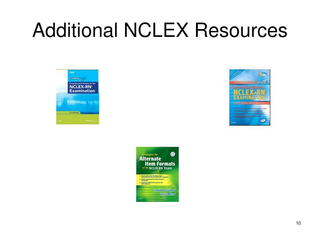 Additional NCLEX Resources