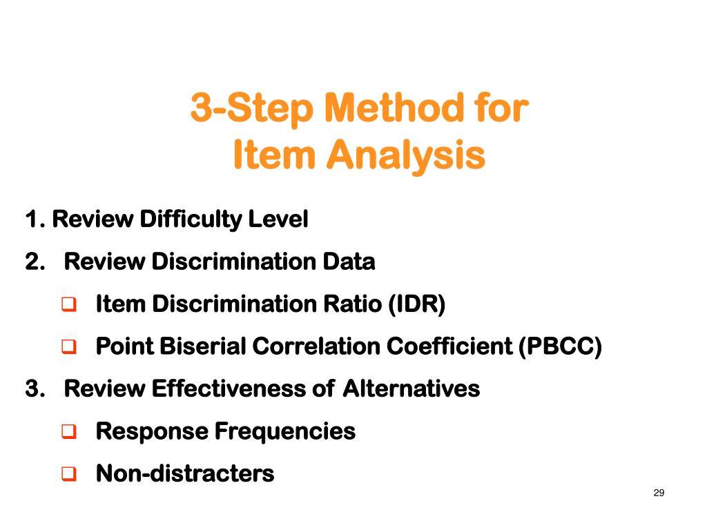 3-Step Method for