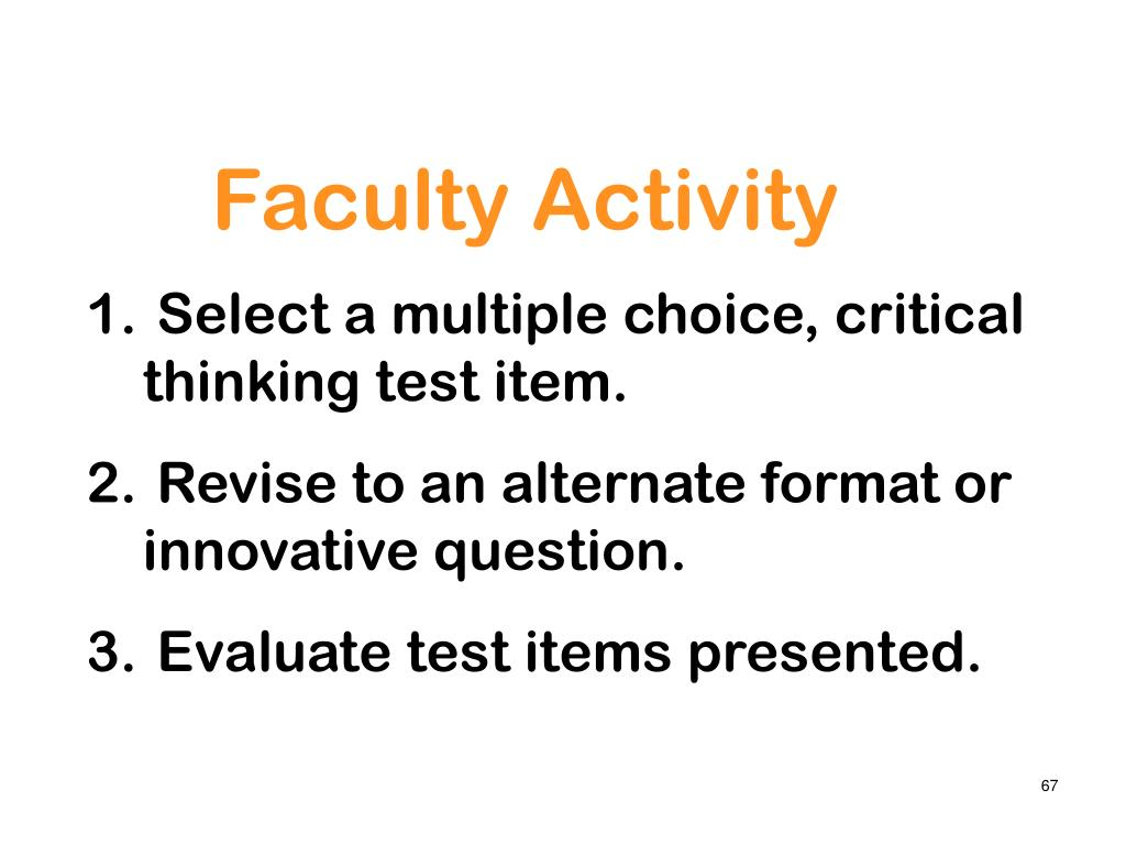 Faculty Activity