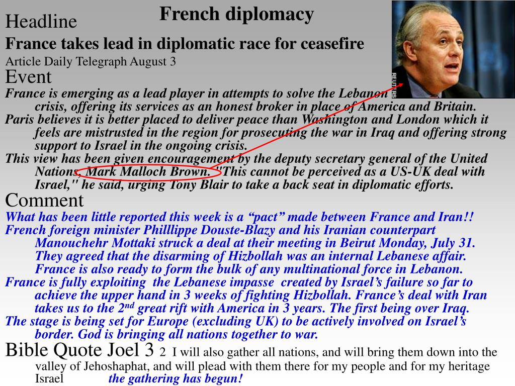French diplomacy