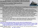 germany eyes incident with israeli jets