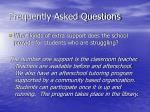 frequently asked questions20