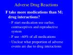 adverse drug reactions24