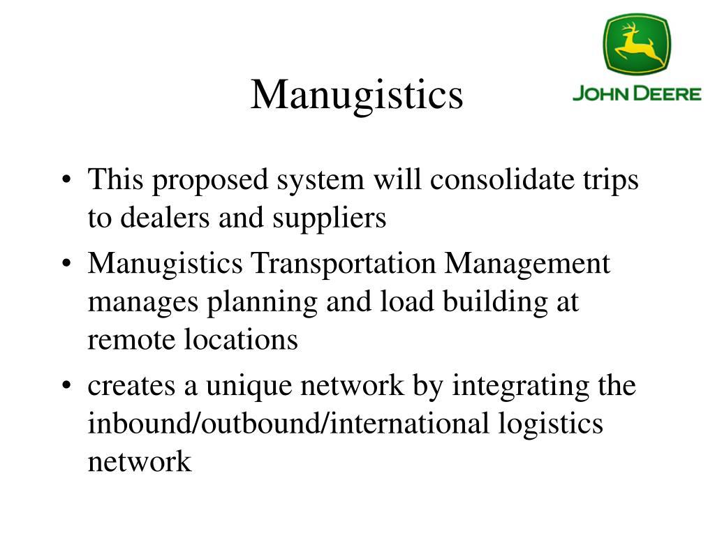 Manugistics