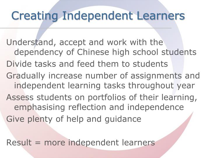 independent learning task d1 Learning and thinking skills which are embedded in the assessment of this unit by achieving the criteria, learners will have demonstrated effective application of the referenced elements of the skills.