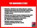 the mahindra story7