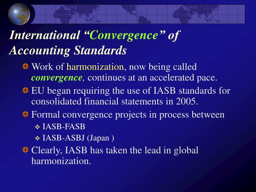 chapter 3 international convergence of financial reporting Chapter 3 international universit r of south carolina chapter 3 international convergence of financial reporting 65 introduction 65 international.