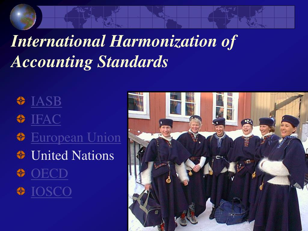 harmonization accounting standards essay Harmonisation of accounting standards essay by harmonisation of accounting standards implications for the harmonization of accounting standards.