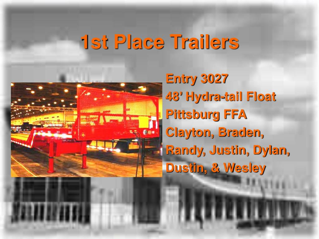 1st Place Trailers