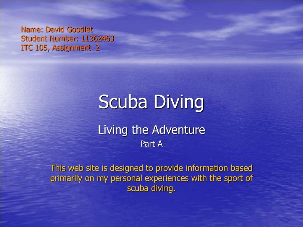 scuba diving l.