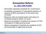 annexation reform s l 2011 396 h 845