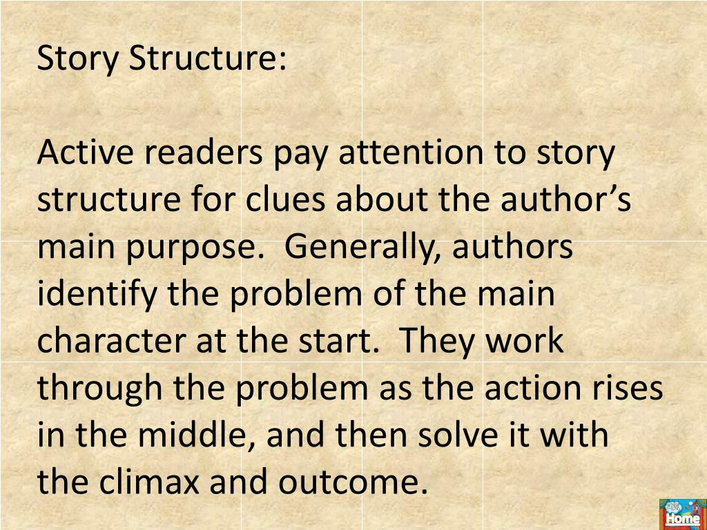 Story Structure: