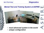 mental test and training system at aspire