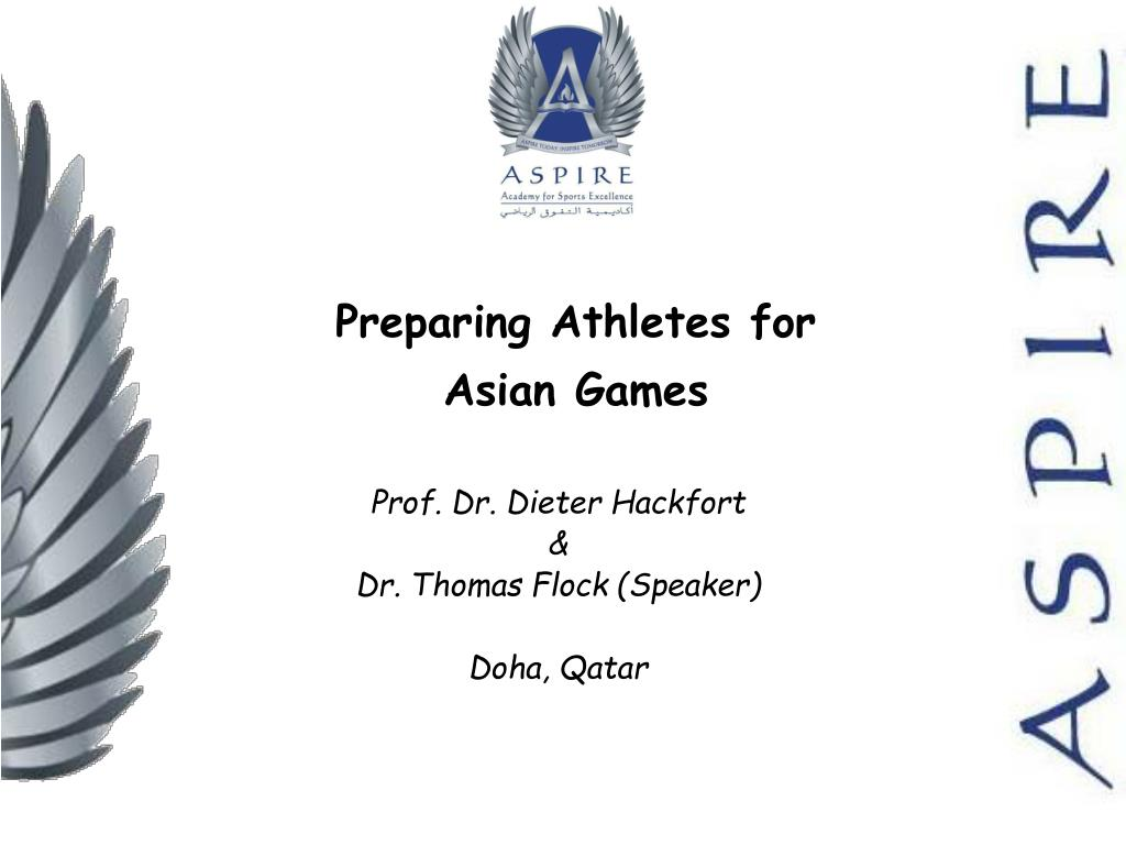preparing athletes for asian games l.