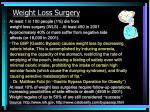 weight loss surgery