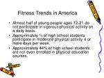 fitness trends in america