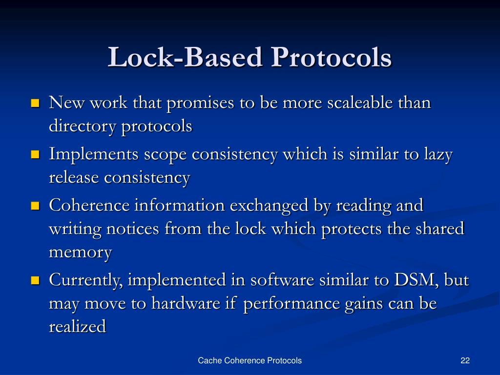 Lock-Based Protocols