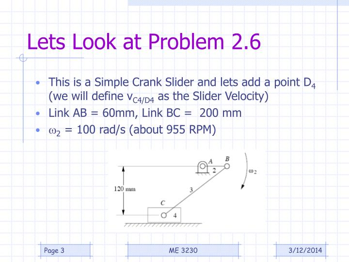 Lets look at problem 2 6
