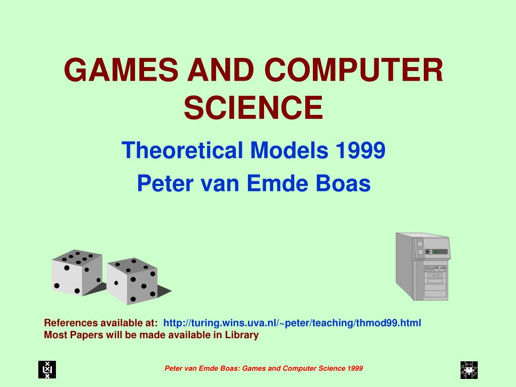 games and computer science l.