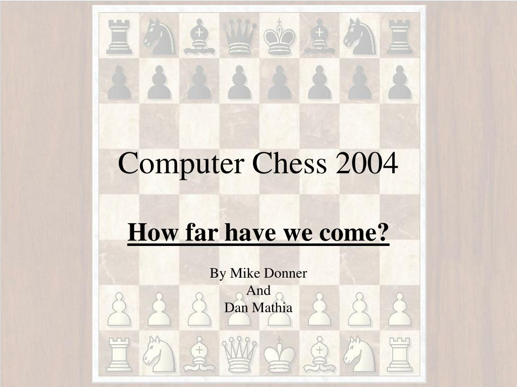 computer chess 2004 l.