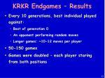 krkr endgames results
