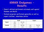 krrkr endgames results