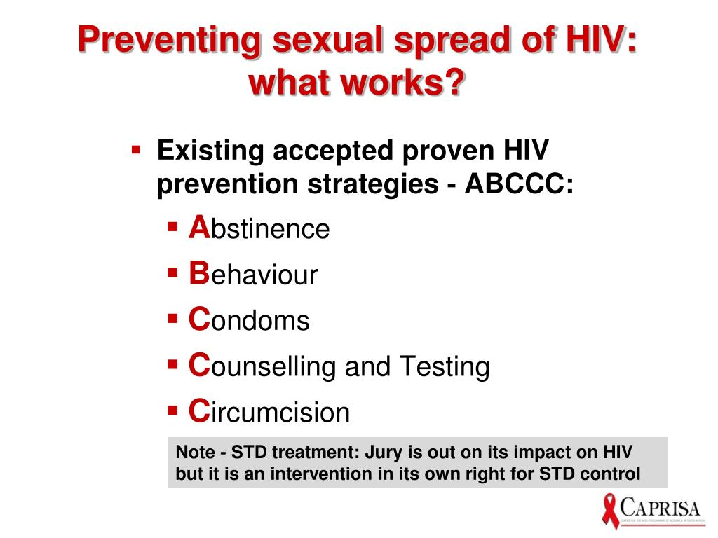 Preventing sexual spread of HIV: what works?