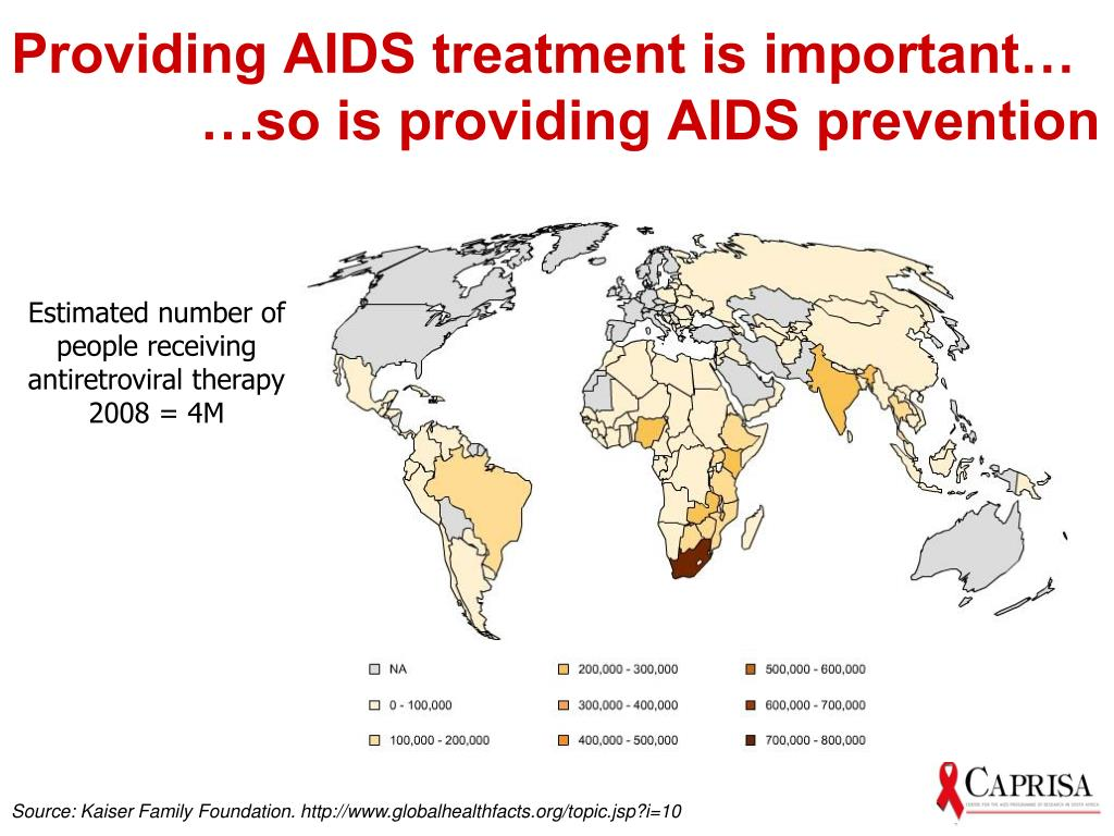Providing AIDS treatment is important…