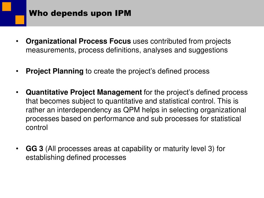Who depends upon IPM