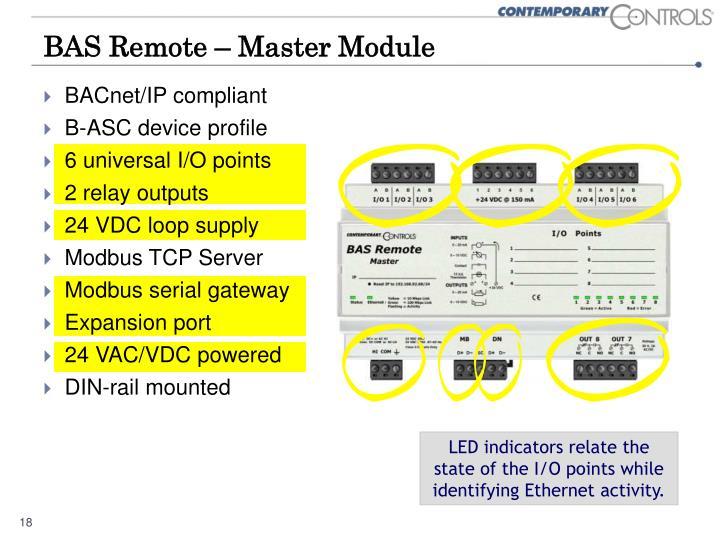 BAS Remote – Master Module