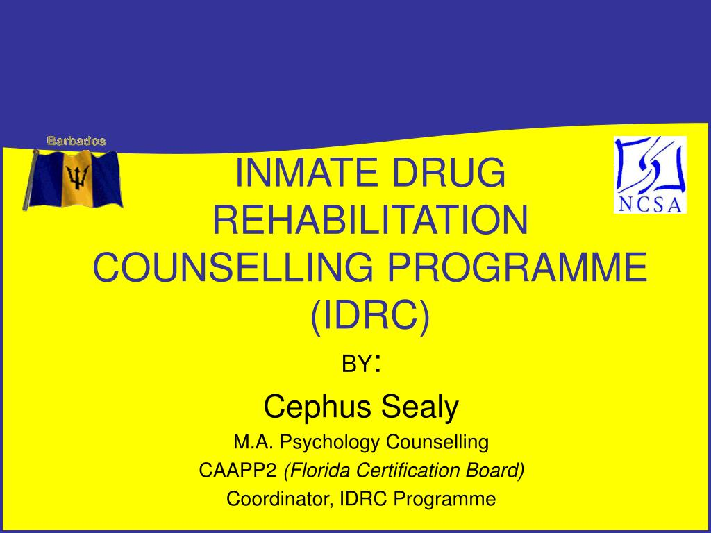 Ppt inmate drug rehabilitation counselling programme idrc ppt inmate drug rehabilitation counselling programme idrc powerpoint presentation id398941 1betcityfo Images