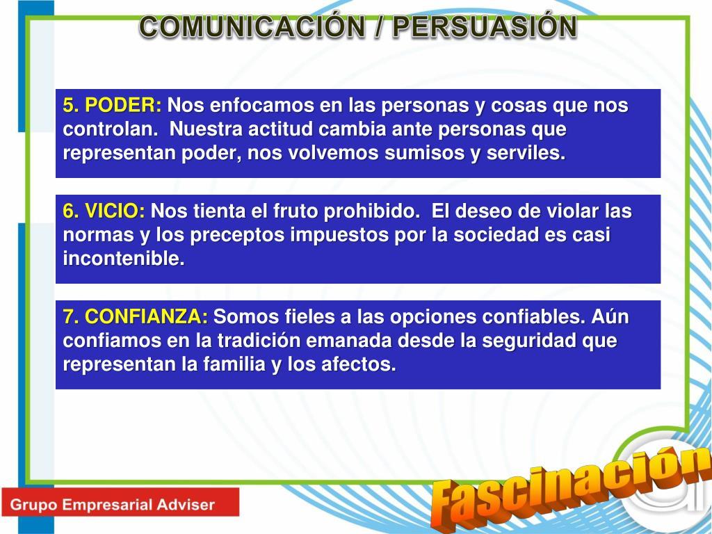 COMUNICACIÓN / PERSUASIÓN