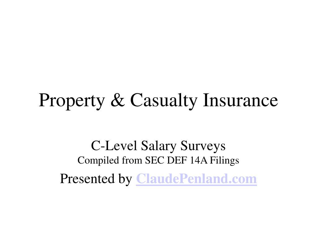property casualty insurance l.