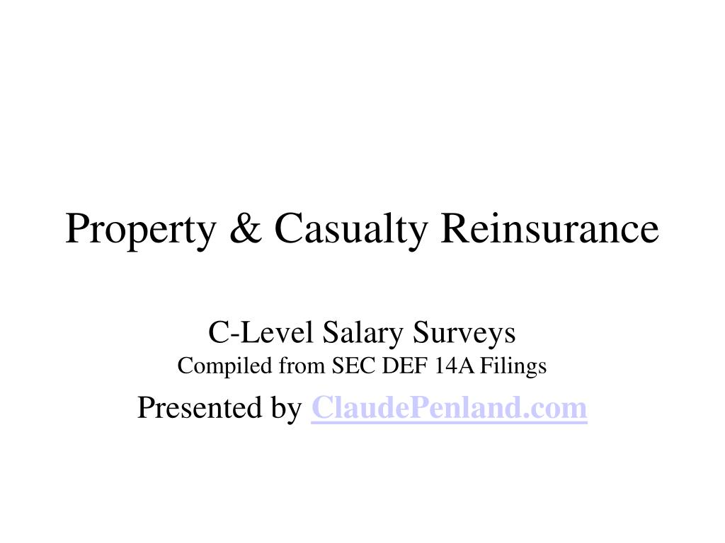 property casualty reinsurance l.
