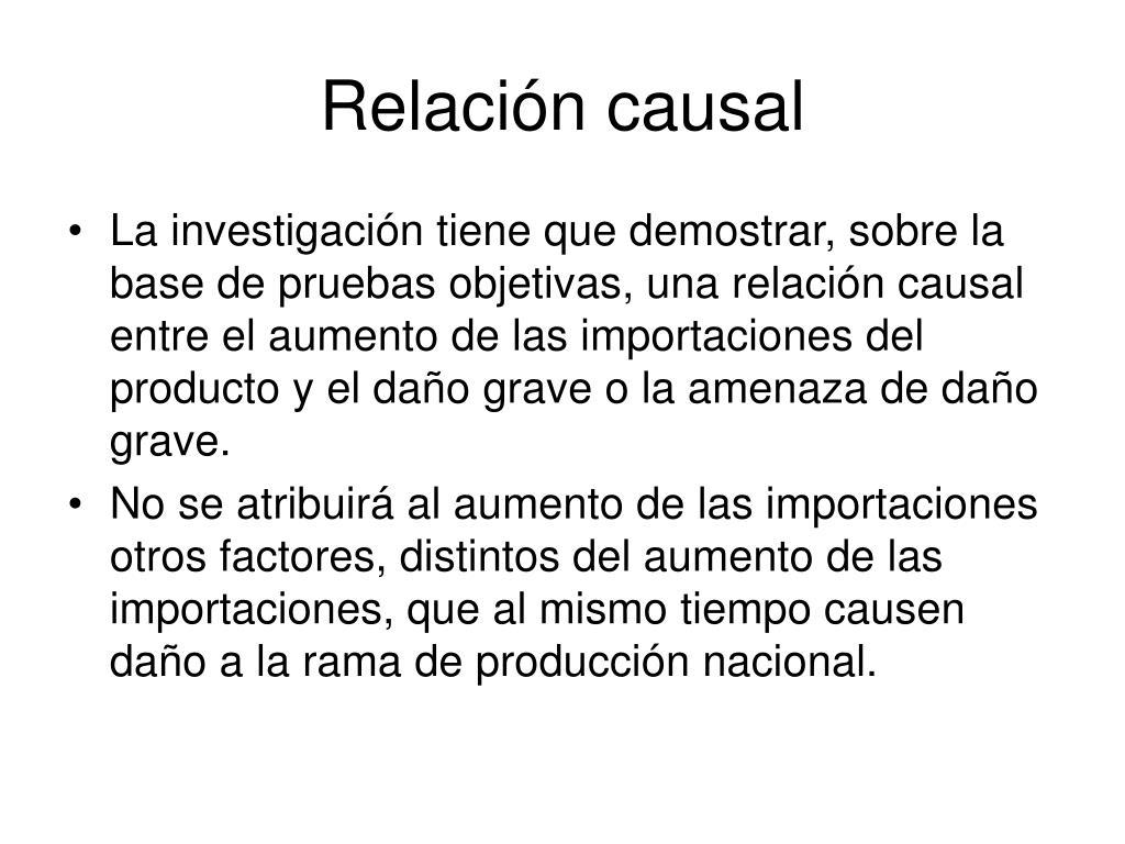 Relación causal