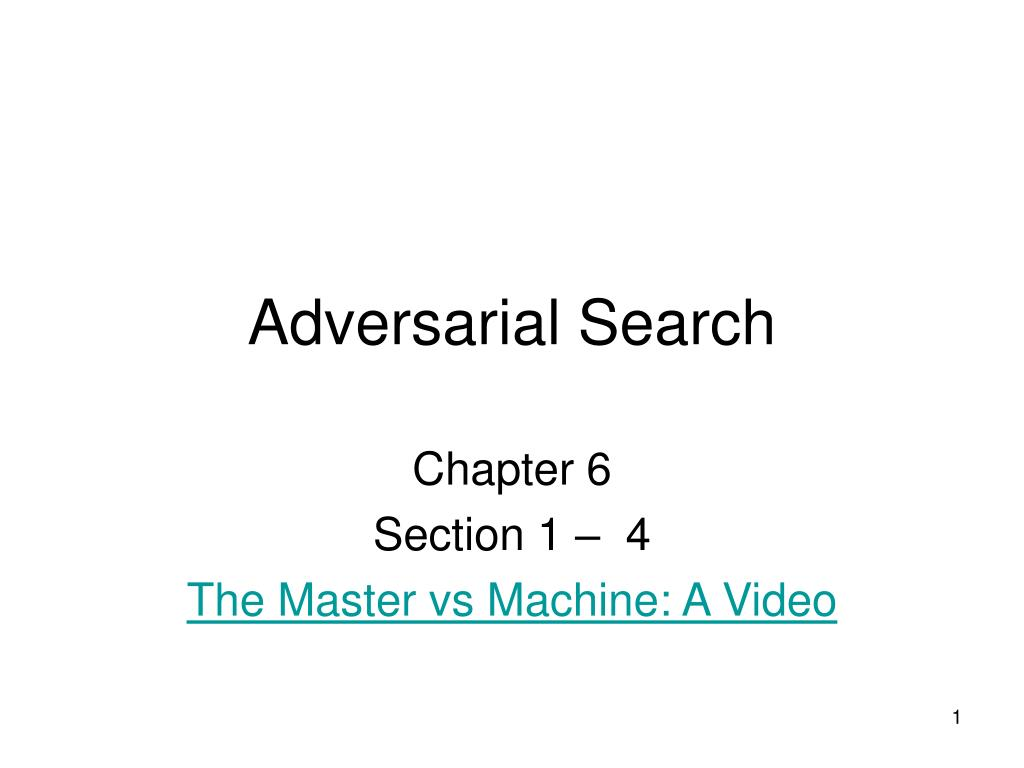 adversarial search l.