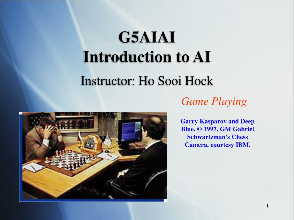 g5ai ai introduction to ai l.