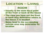 location living room