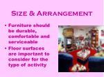 size arrangement25