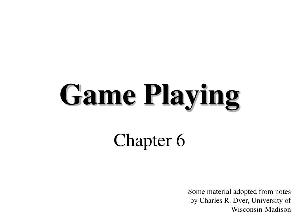 game playing l.