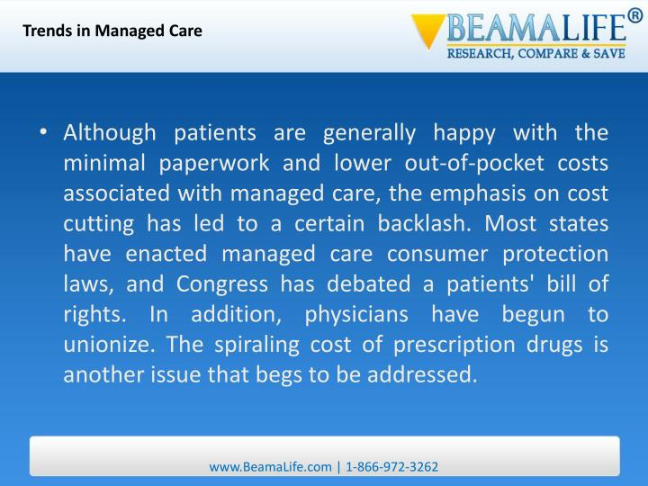 Trends in Managed Care