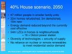 40 house scenario 2050
