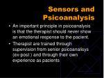 sensors and psicoanalysis14