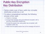public key encryption key distribution