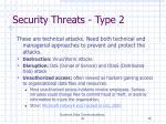 security threats type 2