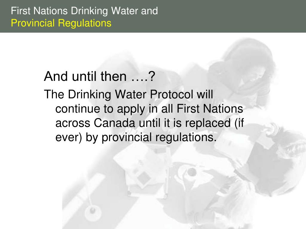 First Nations Drinking Water and