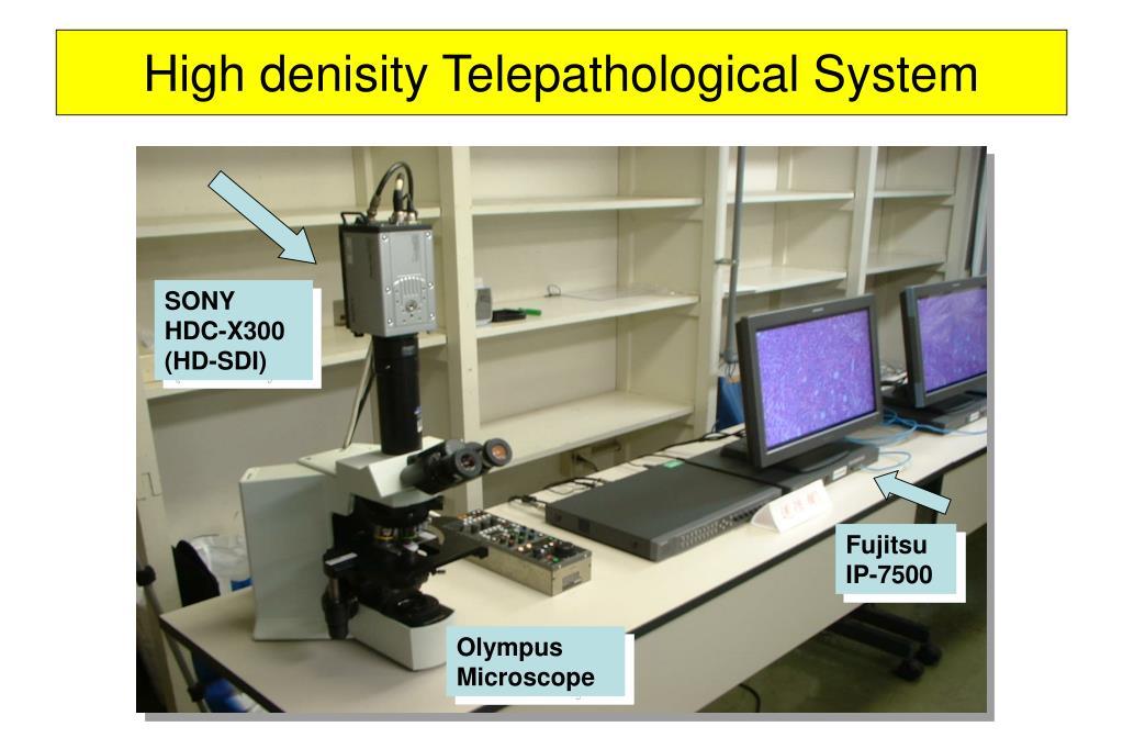 High denisity Telepathological System