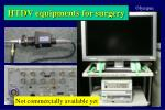 htdv equipments for surgery