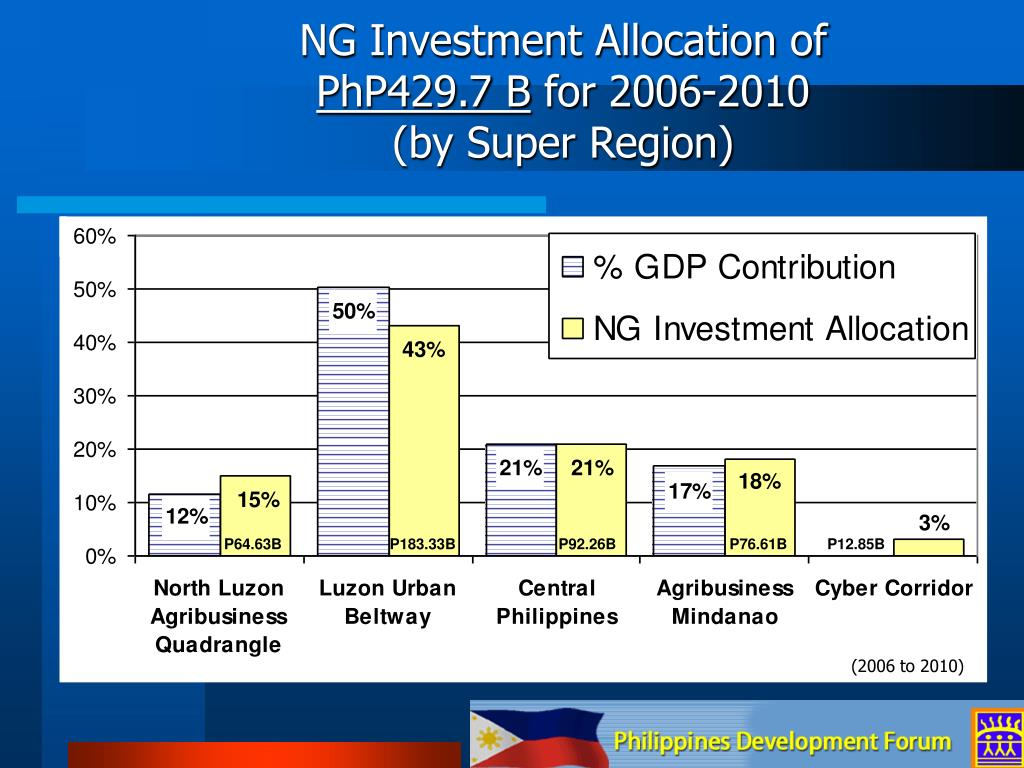 NG Investment Allocation of