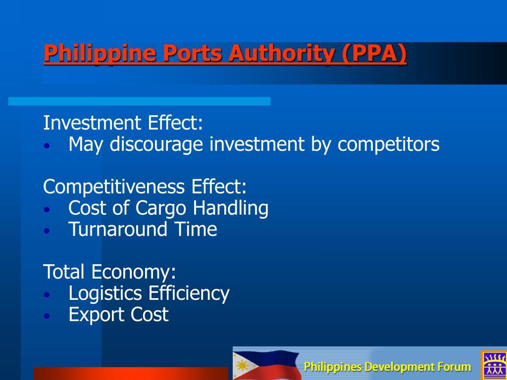 Philippine Ports Authority (PPA)